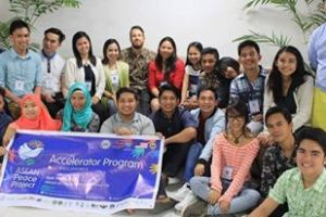 "Peace dialogues for the youth. ASEAN Peace Project, Mindanao Youth Leadership Summit, and Peacebuilders forums. ""There I met different people from different conflict affected parts of Mindanao and youth leaders from the ASEAN region too that mainly advocates for peace."" (Ey Abellana, top row, ninth from left)."